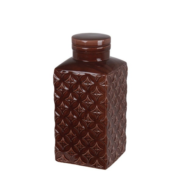 Large Ceramic Jar with Lid