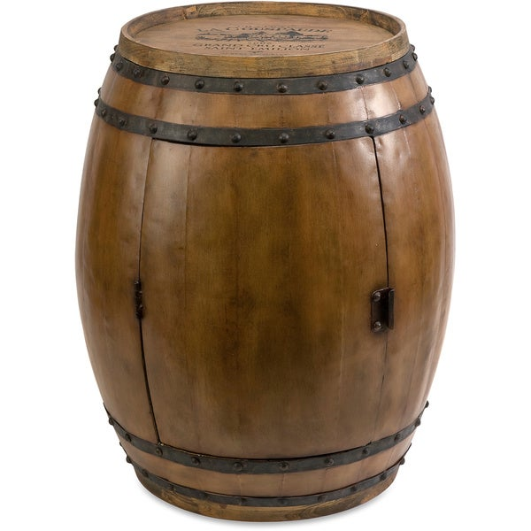 Napa Barrel Table Free Shipping Today Overstock 16692969