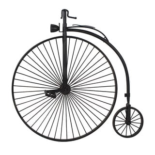 Aurelle Home Metal Bicycle Wall Hanging Decoration