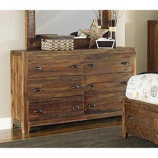 Magnussen River Ridge Wood 6-drawer Dresser