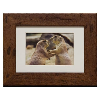 Rustic 5 x 7 Wood Picture Frame (Option: Brown)