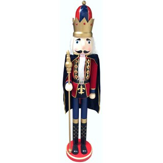 60-inch Deluxe Nutcracker King with Cape
