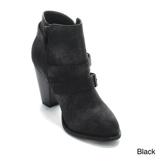 Forever Women's 'Camila-64' Pull-on Ankle Booties