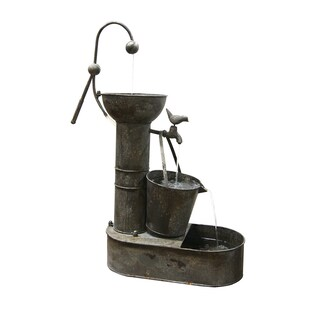 Tiering Tin Fountain
