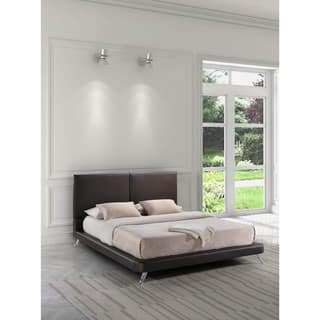 Zuo Rivette Wood and Leatherette Bed|https://ak1.ostkcdn.com/images/products/9514601/P16693195.jpg?impolicy=medium