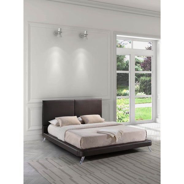 Zuo Rivette Wood and Leatherette Bed