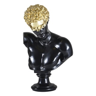 Ren Wil Classic Gold/ Black Bust Statue