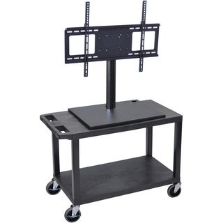 Luxor 2-shelf Flat Panel TV Cart