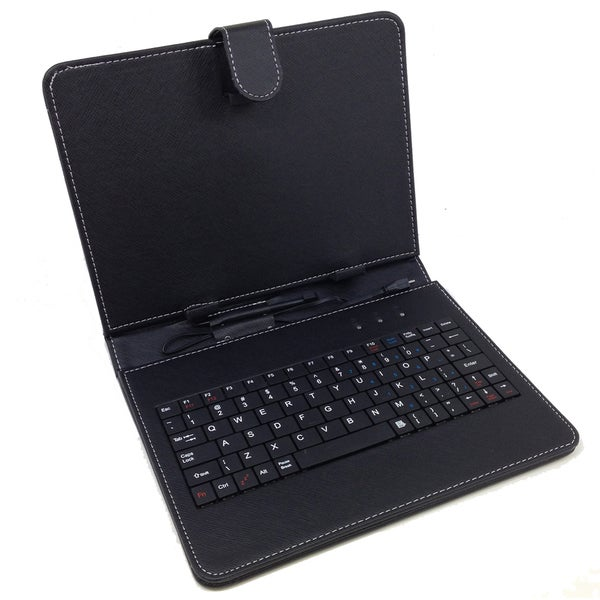 Shop Micro Usb Keyboard Folio For 10 Inch Tablet