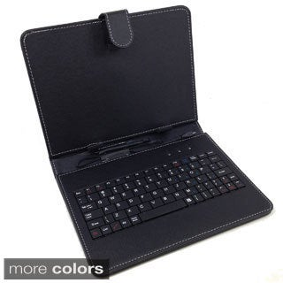 Micro USB Keyboard Folio for 10-inch Tablet