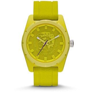 Diesel Unisex DZ1626 Yellow Silicone Strap Watch