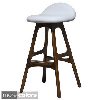 Mellow Leather Stool