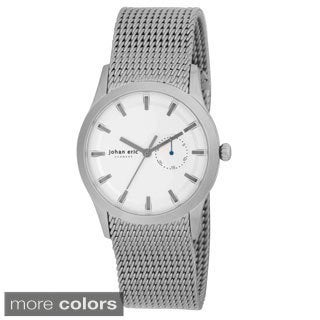 Johan Eric Agerso Men's Mesh Stainless Steel Analog Watch