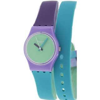 Swatch Women's Originals LV117 Multicolor Silicone Swiss Quartz Watch|https://ak1.ostkcdn.com/images/products/9515130/P16693773.jpg?impolicy=medium