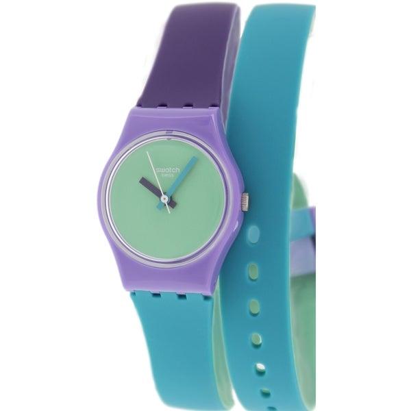 Swatch Women's Originals LV117 Multicolor Silicone Swiss Quartz Watch