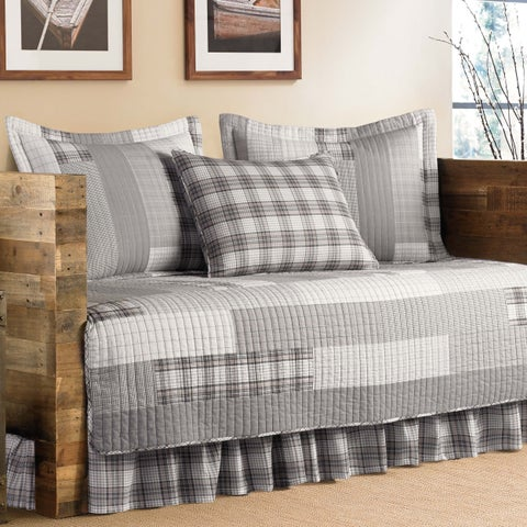 Eddie Bauer Fairview 5-Piece Quilted Daybed Cover Set 39x75