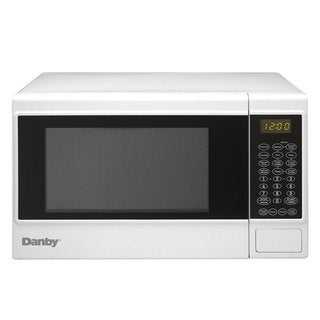 Danby White Countertop Microwave Oven