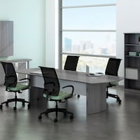 Mayline Napoli Series Foot Conference Table Free Shipping Today - 42 x 96 conference table