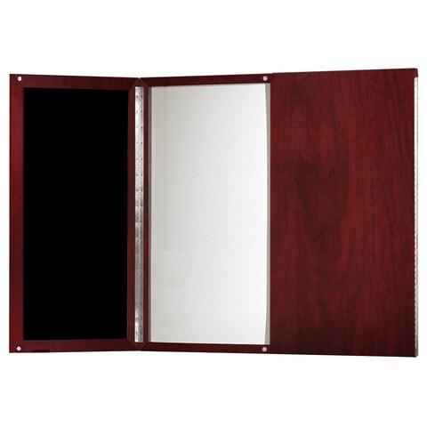 Mayline Medina Presentation Board with Dry Erase Center Panel