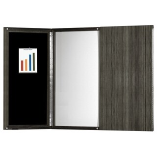 Mayline Medina Presentation Board with Dry Erase Center Panel