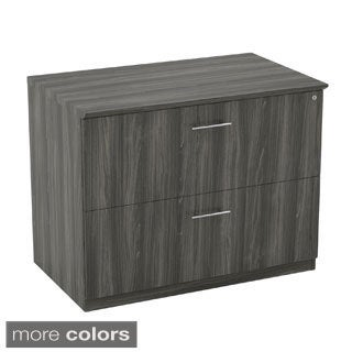 Mayline Medina Locking Lateral File with 2 Drawers, Letter and/or Legal