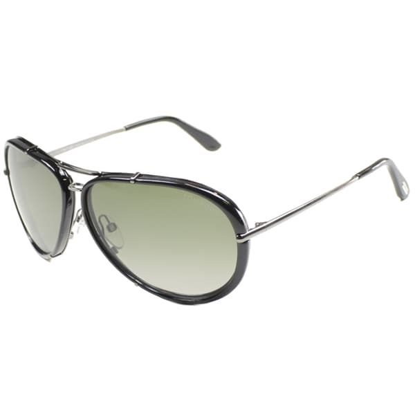 Tom Ford Unisex 'TF 109 Cyrille 08R' Aviator Sunglasses