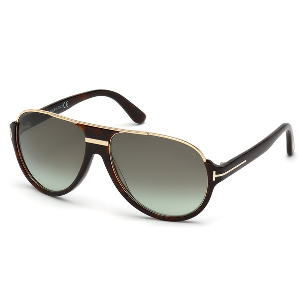Tom Ford Men Sunglasses  tom ford men s tf 334 56k havana plastic aviator sunglasses free