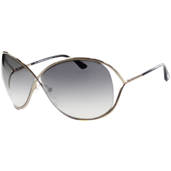 2324476618e Shop Tom Ford Women s  TF130 Miranda 28B  Sunglasses - Free Shipping ...