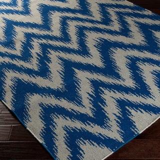 Hand-woven Blagnac Flatweave Wool Area Rug - 2' x 3'