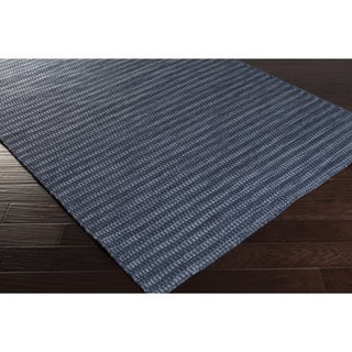 Hand-Woven Bernie Solid Wool Area Rug (8' x 11')
