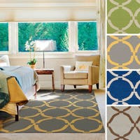 Hand-woven Seville Flatweave Wool Area Rug