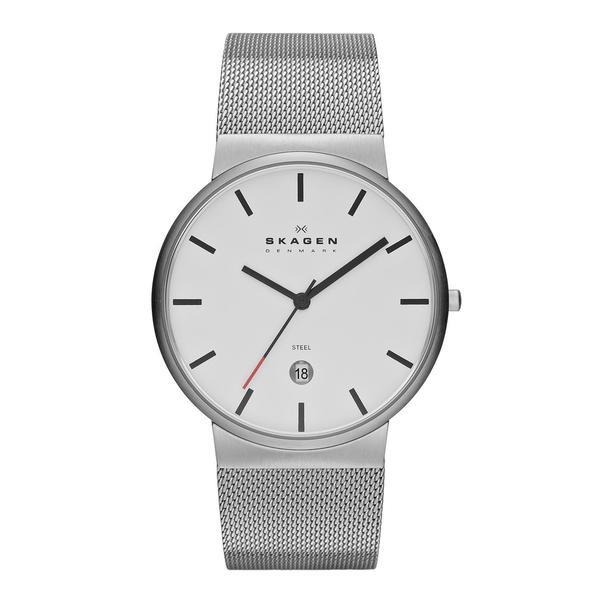 Skagen Ancher Leather Chronograph Watch G30256977