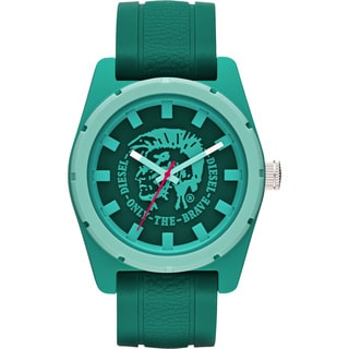 Diesel Men's Stainless Steel Mohawk Green Dial Watch