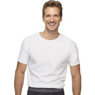 Hanes Ultimate X-temp White Crew Undershirt (Pack of 3)