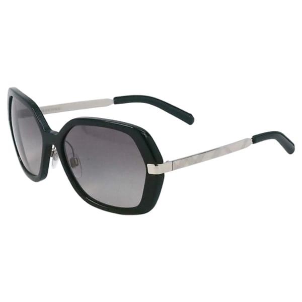 burberry glasses womens plxx  Burberry Women's 'BE 4153Q 3001/11' Sunglasses