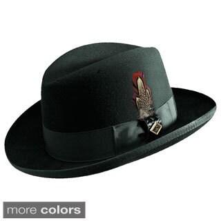 Stacy Adams Wool Felt Homburg Hat