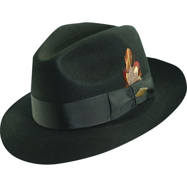 Stacy Adams Cannery Row Wool Fedora Hat