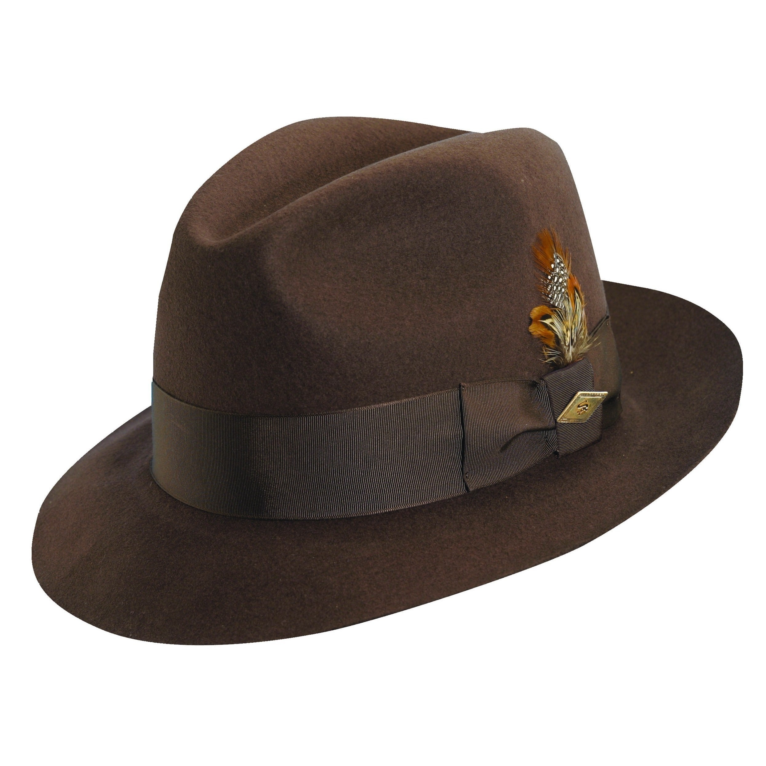 103d4fa3882 Shop Stacy Adams Cannery Row Wool Fedora Hat - Free Shipping Today ...