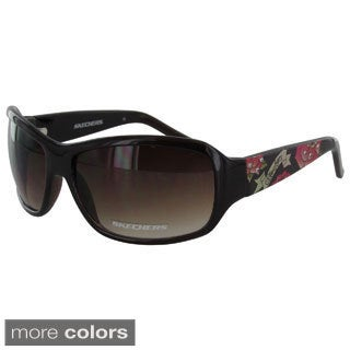 Skechers Women's 4024 Floral Fashion Sunglasses - Medium - Purple