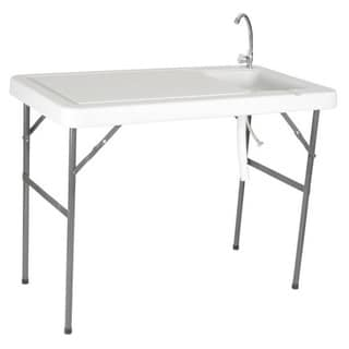 Portable Outdoor Sink Table