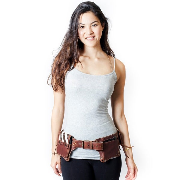 Women's Leather Cowboy Travel Utility Belt (India)