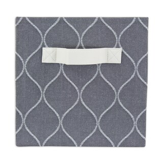 Oh Gee Heather Grey Storage Bin with Handle
