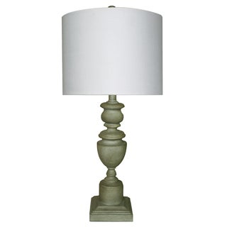 Somette Copen Grey Shade Table Lamp