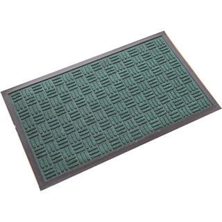Green Molded Polypropylene Doormat