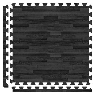 SoftWoods Floor Tile Set - Black