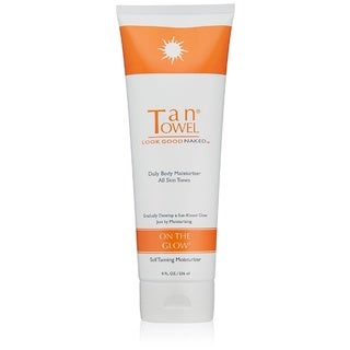 Tan Towel On The Glow 8-ounce Self Tanning Moisturizer
