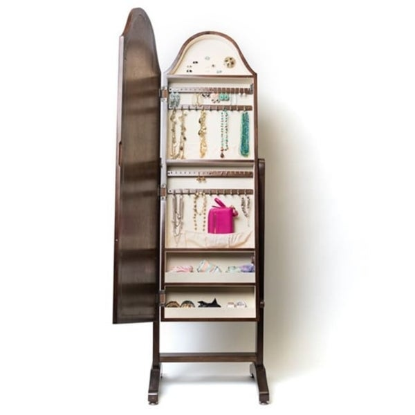f7bc3064500 Hives  amp  Honey Bell Shape Full-Length Mirror with Jewelry Storage