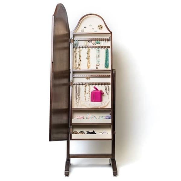 Hives U0026amp; Honey Bell Shape Full Length Mirror With Jewelry Storage