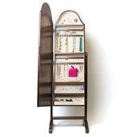 Hives & Honey Bell Shape Full-Length Mirror with Jewelry Storage