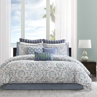 Echo Design Kamala Cotton 4-piece Comforter Set